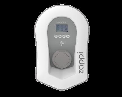 Zappi V2 charging box laddbox trefas 3-phase ladda elbilen EV_Solution laddkabel charging cable